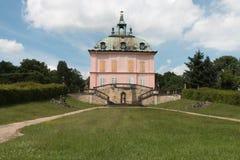 Un castillo en el este de Alemania fotografía de archivo
