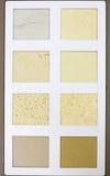 Un catalogo del campione del modello di pietra differente di progettazione Immagine Stock Libera da Diritti
