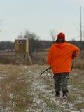Un cazador de los ciervos de Minnesota Fotografía de archivo libre de regalías