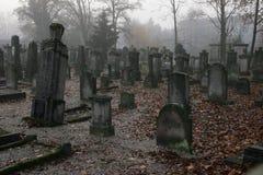 Un cementerio Fotos de archivo libres de regalías