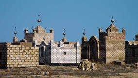 Un cementerio islámico almacen de metraje de vídeo