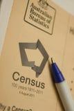 Un censimento del 2011 australiano Immagini Stock