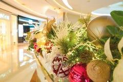 Un centro comercial en Hong Kong Imágenes de archivo libres de regalías