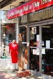Un centro commerciale degli oggetti d'antiquariato in Fredericksburg storico la Virginia Fotografie Stock Libere da Diritti