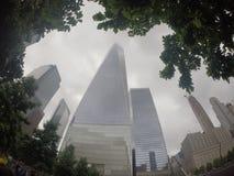 Un centro de comercio mundial Imagen de archivo libre de regalías