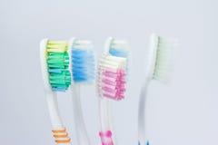 Un cepillo de dientes viejo Imagen de archivo