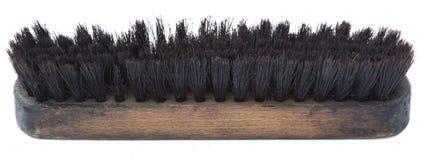 Cepillo usado aislado del zapato Imagen de archivo libre de regalías