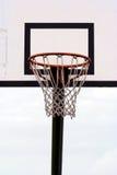 Un cerchio di pallacanestro Fotografia Stock Libera da Diritti