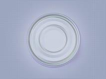 Un cercle bleu et pourpre sur un modèle image stock
