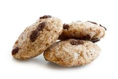 Un cereale di tre di pepita di cioccolato biscotti Immagini Stock Libere da Diritti