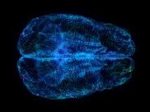 Un cerebro abstracto del plexo libre illustration