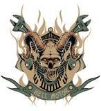 Moteur d'enfer Image stock