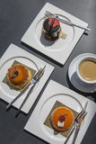 Un certains gâteau et dessert Photo libre de droits