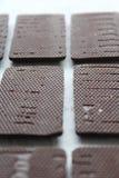 Un certo bonbon del cioccolato fotografie stock