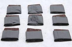 Un certo bonbon del cioccolato fotografia stock libera da diritti