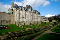 Un château à Vannes photos libres de droits
