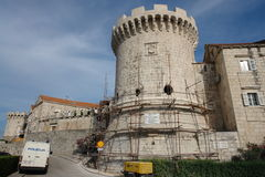 un château en Bosnie Photographie stock libre de droits