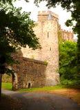 Un château sur le Rhin en Allemagne photos stock