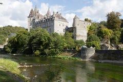 Un château très gentil en Belgique Photographie stock libre de droits
