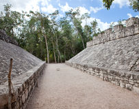 Un champ de boule maya, Yucatan, Mexique Photo libre de droits