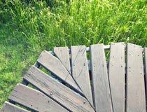 Un champ vert Image libre de droits