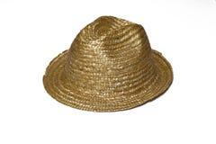 Un chapeau de paille Photographie stock libre de droits