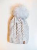 Un chapeau gris Photographie stock
