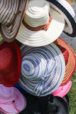 Un chapeau pendant toutes les saisons Images libres de droits