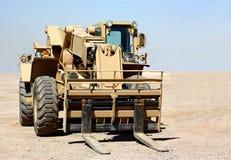 Un chariot élévateur Photo libre de droits