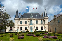 Un chateau del Bordeaux Immagine Stock Libera da Diritti