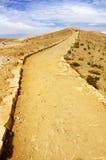 Un chemin d'enroulement sur Isla Del Sol Photographie stock