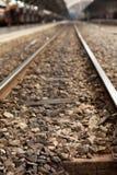 Un chemin de fer Photo libre de droits