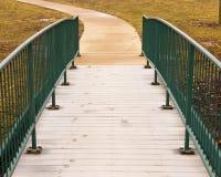 Un chemin pris Photographie stock libre de droits