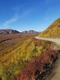 Un chemin rocailleux photo libre de droits
