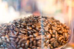 Un chicco di caffè Fotografia Stock Libera da Diritti
