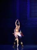 """Un chiffre vu par derrière le  de Nights†de l'""""One mille et un de ballet Photographie stock libre de droits"""