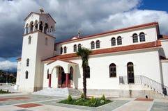 Un churche griego Imagen de archivo libre de regalías