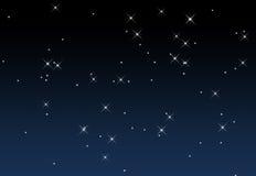 Un ciel étoilé Photos libres de droits