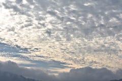 Un ciel cludy image libre de droits