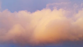 Un ciel d'écarlate photos libres de droits