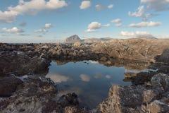 Un ciel de magma photos libres de droits