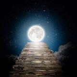 Un ciel de nuit Photo libre de droits