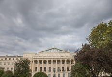 Un ciel sombre image libre de droits