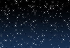 Un cielo estrellado Imagenes de archivo