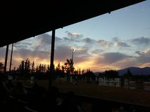 Un cielo hermoso Fotografía de archivo