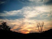 Un cielo perfetto Immagine Stock