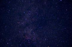 Un cielo in pieno delle stelle Immagini Stock Libere da Diritti