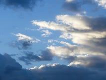 Un cielo turbulento imagen de archivo libre de regalías
