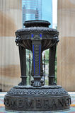 Capilla eterna de la llama del cuadrado de Anzac de la conmemoración Fotos de archivo