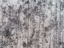 Un cierre para arriba de la vieja superficie de la pared del cemento, de la textura y de los fondos sucios imágenes de archivo libres de regalías